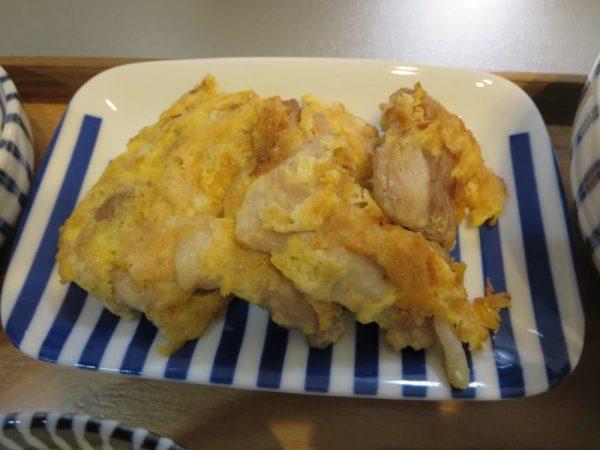 豚肉のピカタ(180405昼ごはん)