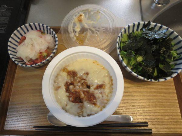 糖質想いのとろ~り濃厚ミートドリア(KAGOME)で朝ごはん