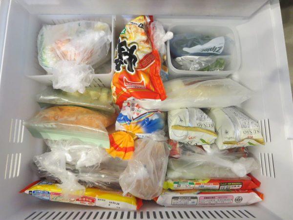 冷凍庫に保存している食品いろいろ