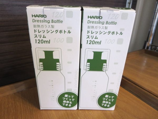 HARIOドレッシングボトルスリム120ml