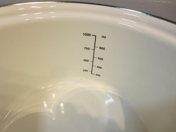 ホーロー両手鍋15cm(クック ポット プチクック)