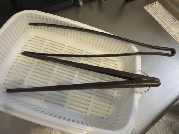 菜箸トング(セリア)2種類