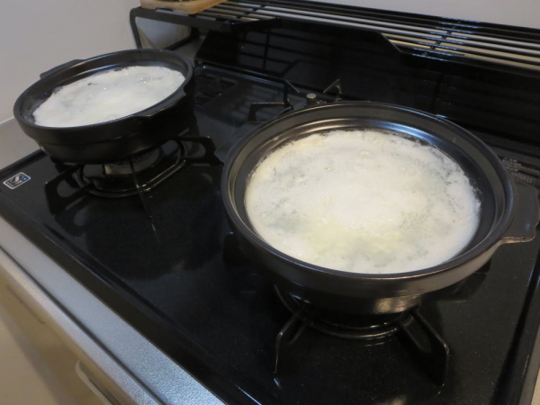 土鍋の目止め