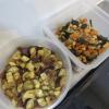 五目豆とナスの甘酢醤油漬けの作り置き