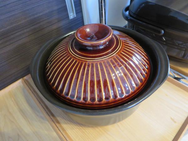 炊飯用土鍋(5合炊き)
