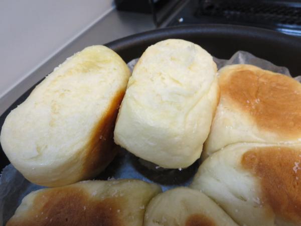 みきママ塩パンレシピでちぎりパン
