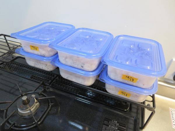 ごはん、冷凍保存