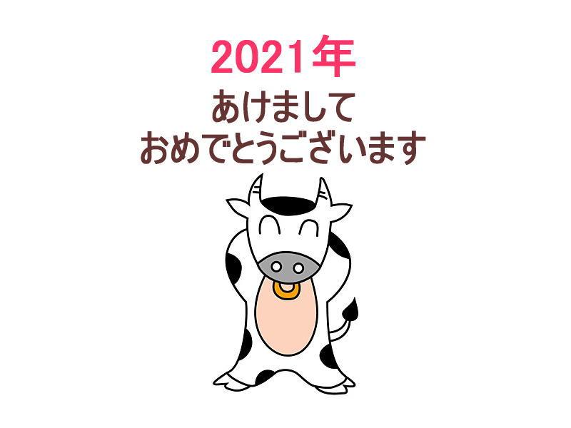 2021年あけましたおめでとうございます