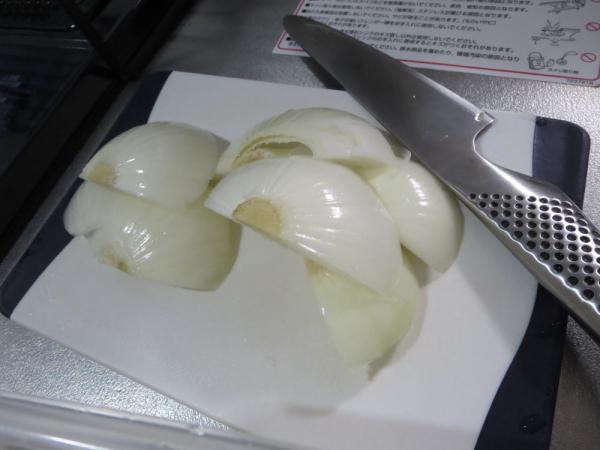玉ねぎの端