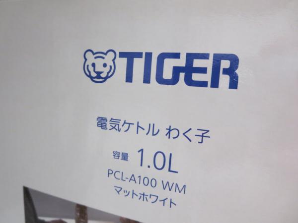 タイガー(電気ケトル わく子 1.0L)PCL-A100 WM