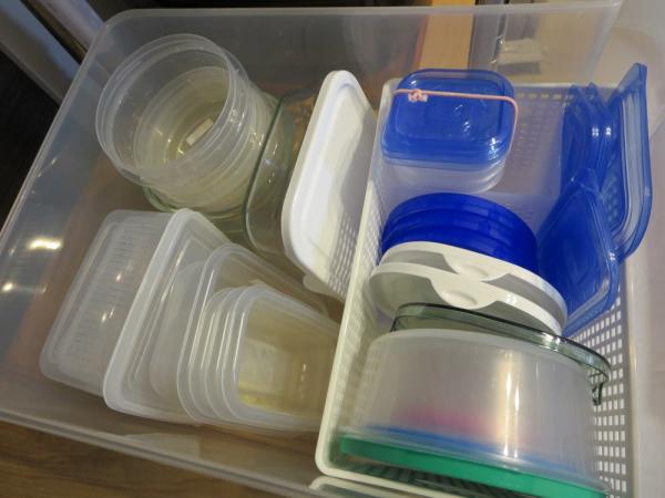 保存容器の収納