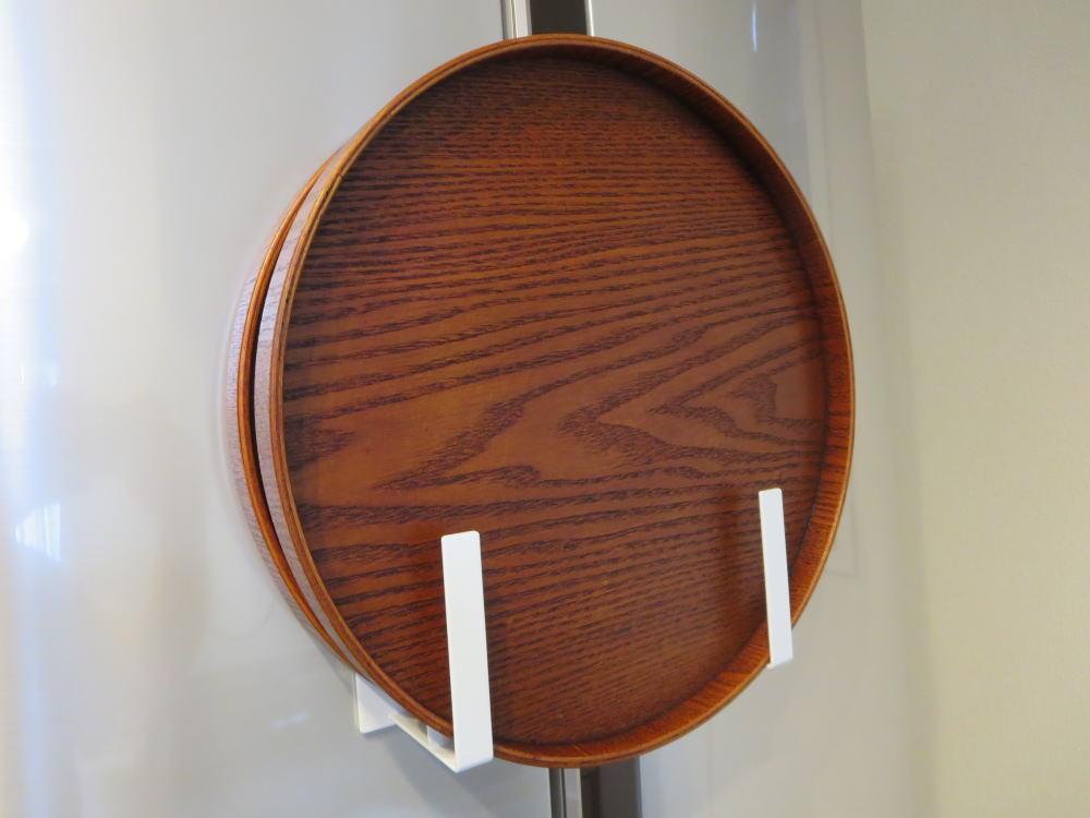 丸盆(トレイ)の収納方法