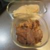ボイル鶏むね肉の塩こうじ漬け、煮豚