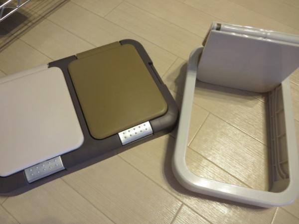 キッチンゴミ箱(2種類)のフタ