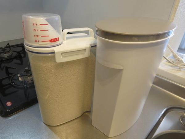 米びつと米保存容器