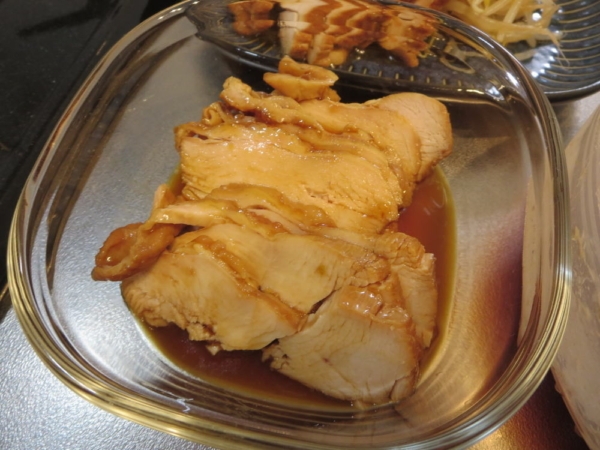 鶏チャーシュー風(鶏むね肉)