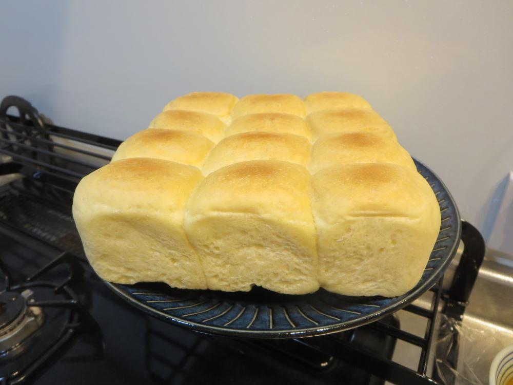 ちぎりパン(失敗しました)