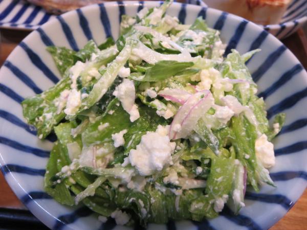 野菜の手作りリコッタチーズ和え