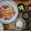 焼魚(金目鯛の開き)メインの献立