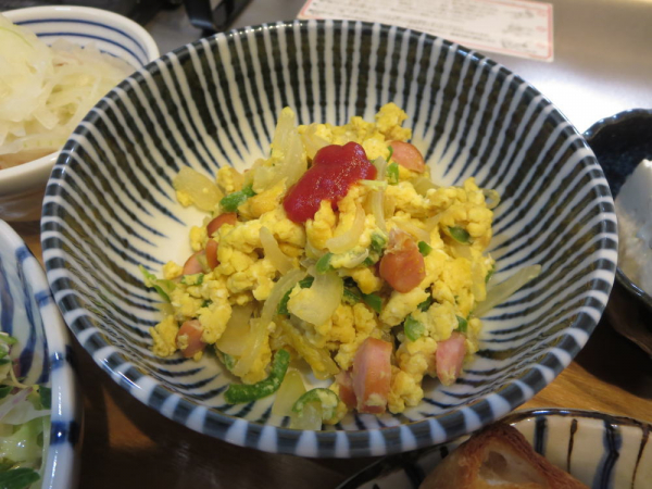 野菜入り炒り卵