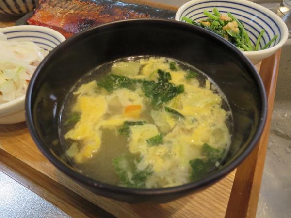 たっぷり野菜のちゃんぽん風スープ