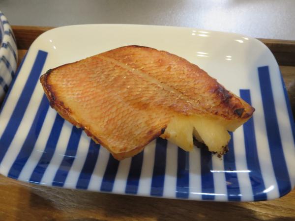 焼魚(赤魚西京漬け)