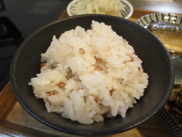 赤米入りごはん