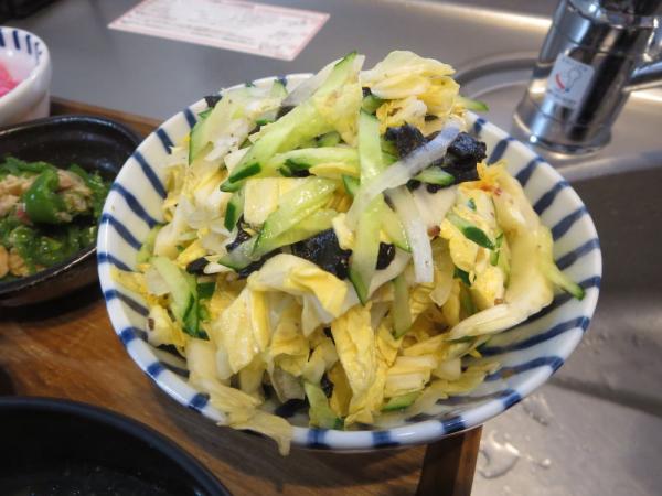 オレンジ白菜のサラダ