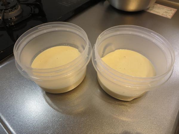 大豆粉でホワイトソース
