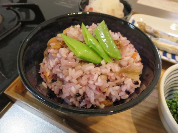 雑穀米混ぜごはん
