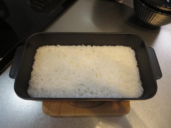 マンナンヒカリのみ炊飯