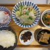 ゆで豚肉と竹の子のポン酢かけの献立