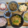 竹の子と豚肉の甘辛煮の献立
