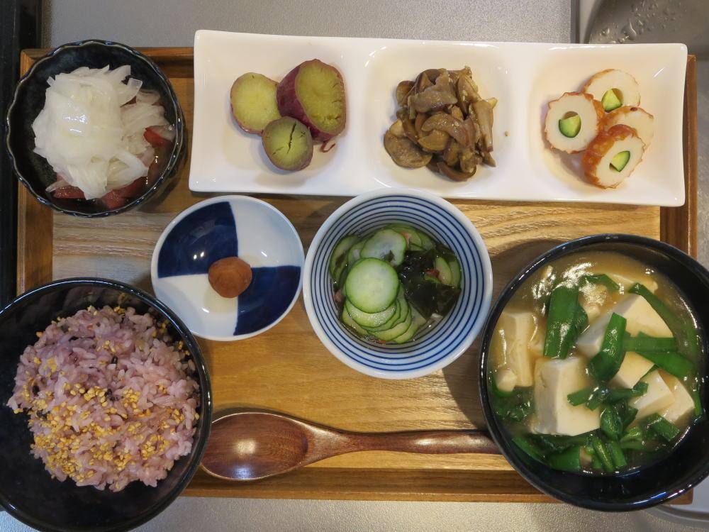 豆腐とニラの中華風旨煮の献立