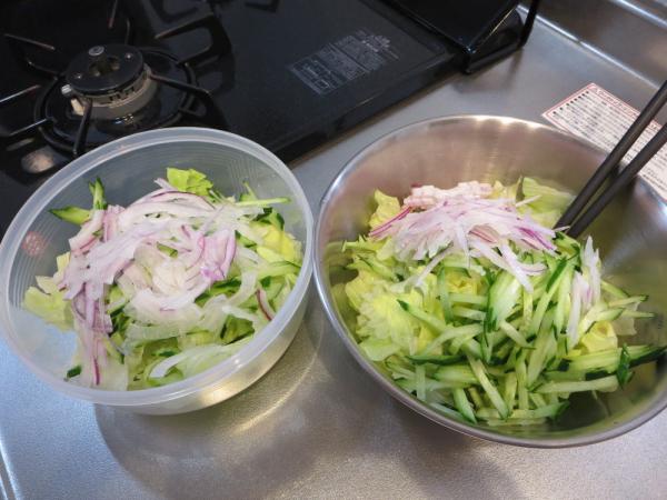 基本の野菜サラダ