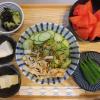 冷やしラーメン(インスタント麺)の献立