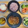 米なすのステーキの献立