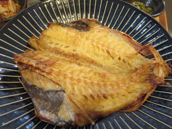 赤魚の開きの焼魚