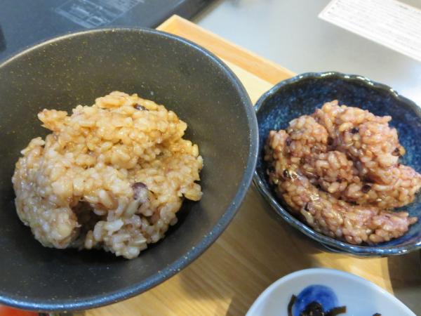 寝かせ玄米ごはん2種類(レトルト)