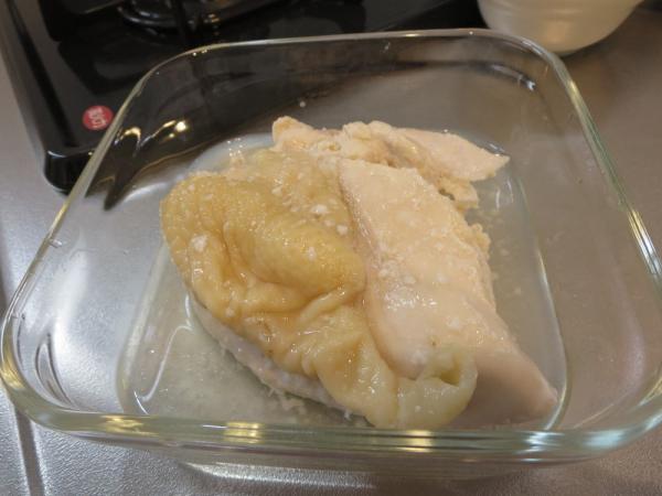 鶏むね肉の塩こうじ煮(作り置き)