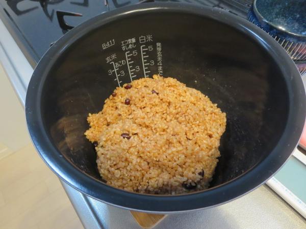 炊飯器で寝かせ玄米