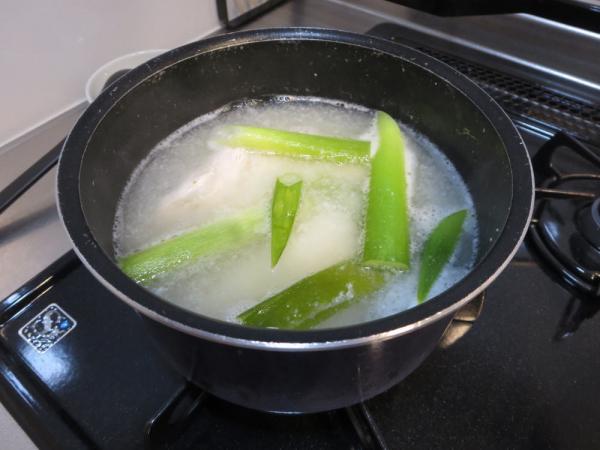 鶏むね肉の塩こうじ煮