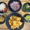 厚揚げと白菜の炒め煮の献立