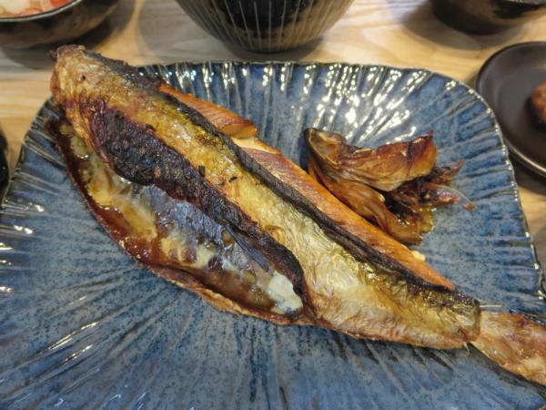 焼き魚(にしん三五八漬け)