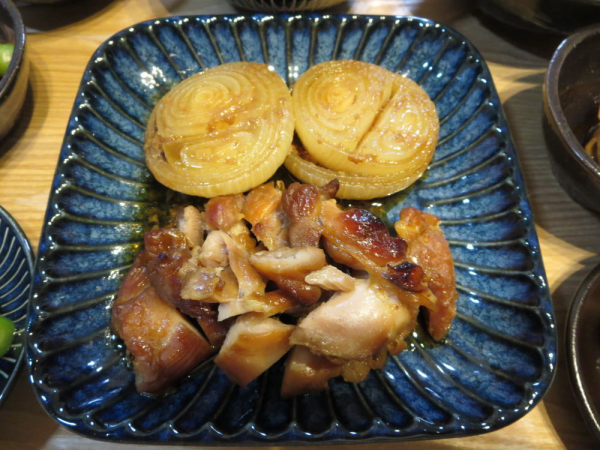 鶏もも肉と新玉ねぎのグリル焼き
