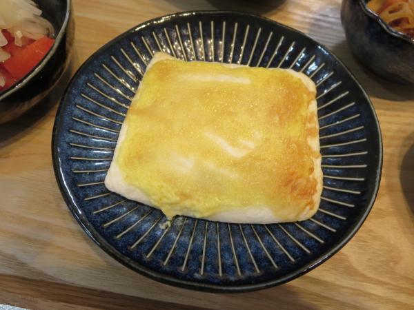 はんぺんのガーリックマヨ醤油焼き