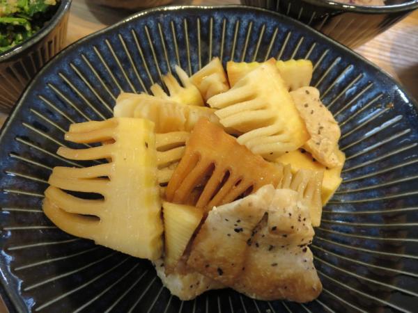 竹の子と鶏むね肉のホイル焼き