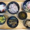 いわし缶(生姜煮)の献立