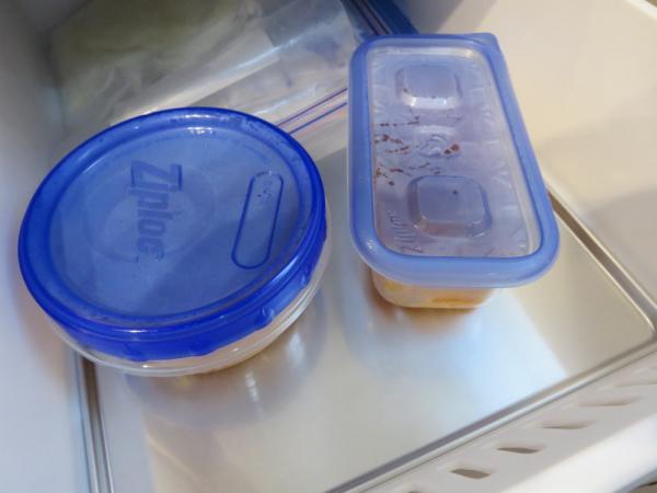 ナポリタン(蒟蒻効果パスタ)を冷凍保存