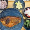 焼魚(トロ赤魚)の献立